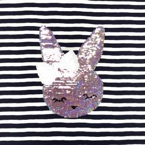 Bilde av Jersey rapport - Vendbar paljetter Bunny (65cm)