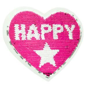 Bilde av Reversibel patch - Happy girl