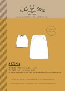 Bilde av Cut & Sew - Senna, Mini&Me Midiskirt