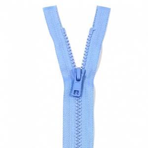Bilde av YKK Delbar plast glidelås - Babyblå 35cm