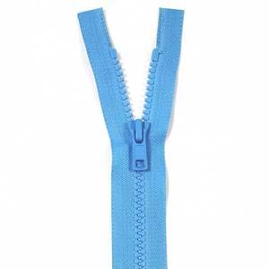 Bilde av YKK Delbar plast glidelås - Havblå 30-50cm