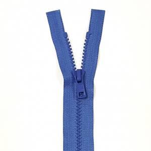 Bilde av YKK Delbar plast glidelås - Blå 65-75cm