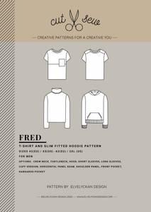 Bilde av Cut & Sew - Fred T-shirt & Hoodie
