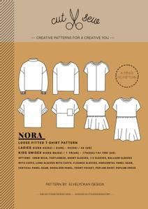 Bilde av Cut & Sew  - Nora Loose fitted shirt, Mini & Me