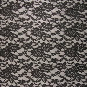 Bilde av Stretchblonde - Foil flowers black