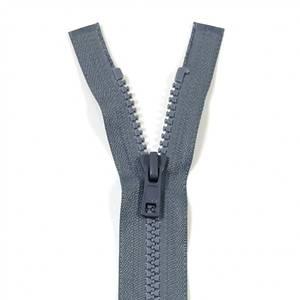 Bilde av YKK Delbar plast glidelås - Grå 30-75cm