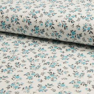 Bilde av Jersey Interlock - Petite Flowers Blue