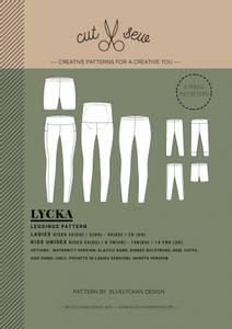 Bilde av Cut & Sew - Lycka Leggings, Mini and Me