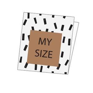 Bilde av Elvelyckan Woven Label - My Size 5 pcs/package