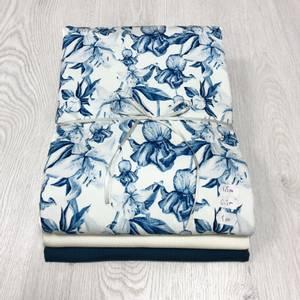 Bilde av Stoffpakke - Orchid Creme/Petrol