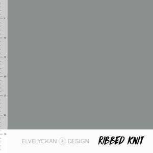 Bilde av Elvelyckan - Knitted Rib, Grey