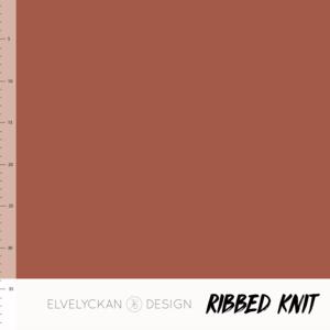 Bilde av Elvelyckan - Knitted Ribb, Rusty