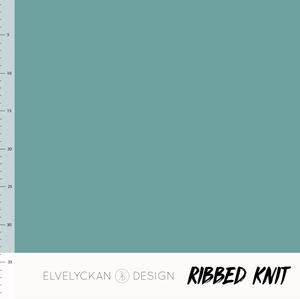 Bilde av Elvelyckan - Knitted Ribb, Aqua