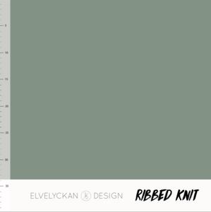 Bilde av Elvelyckan - Knitted Ribb, Green