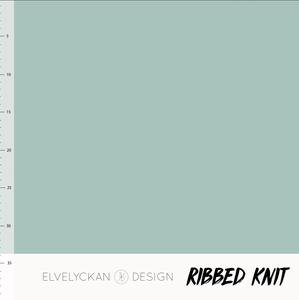 Bilde av Elvelyckan - Knitted Ribb, Dusty Mint