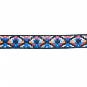 Bilde av Elastisk dekorbånd - Multi blå 25mm