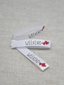 Bilde av Navnemerke - Weekend