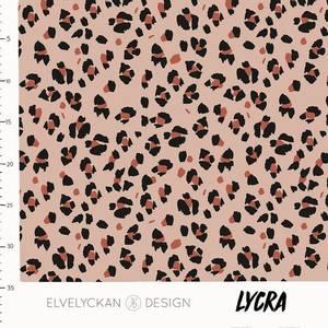 Bilde av Elvelyckan Lycra - Lynx Dots Dusty Pink