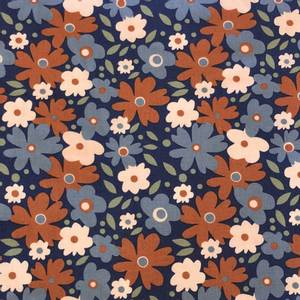Bilde av Elvelyckan organic cotton - Flowers rusty