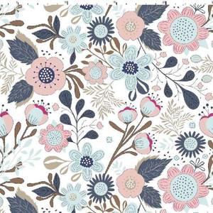 Bilde av Jersey - Pastell Flowers