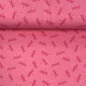 Bilde av Jersey Summer Jacquard - Dragonfly Pink