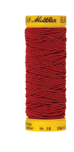 Bilde av Amann Mettler elastisk sytråd - Rød 0504