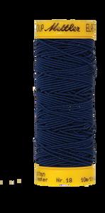 Bilde av Amann Mettler elastisk sytråd - Marineblå 0810