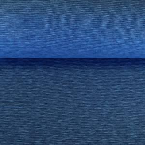 Bilde av Ribb melert - Turkis/mørk blå