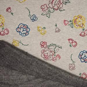 Bilde av Isoli/Minky - Flowers Multi Grey