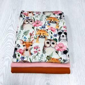 Bilde av Stoffpakke - Summer Animals Pink and Orange