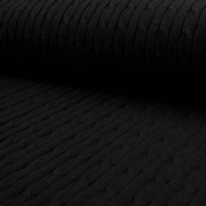 Bilde av Heavy knit - Braid, Black