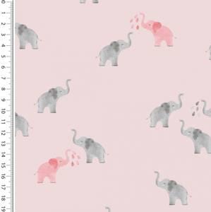 Bilde av Jersey - Small Elephants Pink