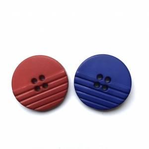 Bilde av Plasknapper 23mm - Rød/blå