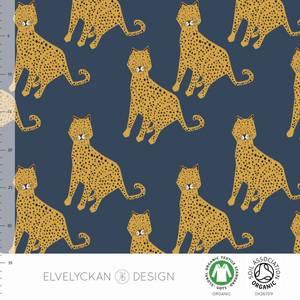 Bilde av Elvelyckan - Leopard Dark blue