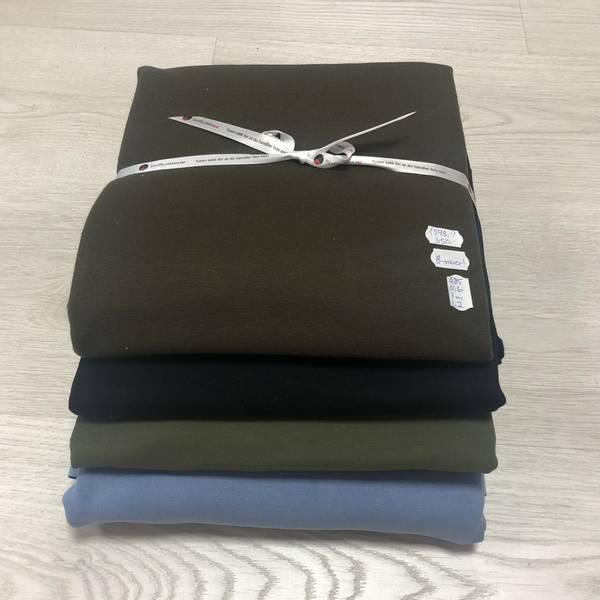 B-vare Stoffpakke - Brun/blå