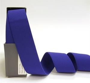 Bilde av Elastikk metervare - Blå 38mm