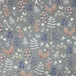 Bilde av Paris Organic Poplin - Flowers green