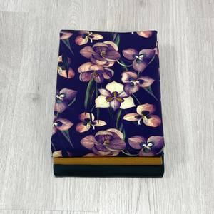 Bilde av Stoffpakke Nero - Flowerfield Dark Green