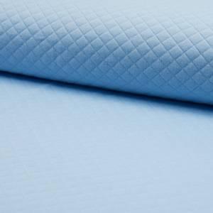 Bilde av Jersey Diamond Quilt - Light Blue
