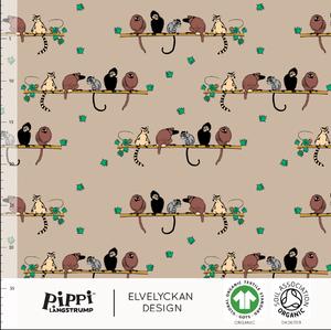Bilde av Elvelyckan - Pippi Monkeys, Cappuccino