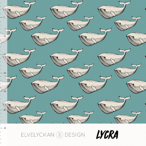 Bilde av Elvelyckan Lycra - Whale Aqua