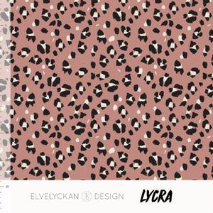 Bilde av Elvelyckan Lycra - Lynx Dots Blush Pink
