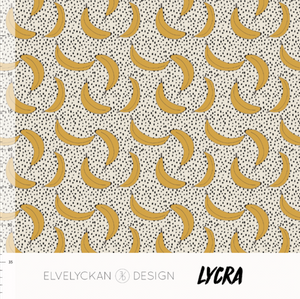 Bilde av Elvelyckan Lycra - Banana Cream