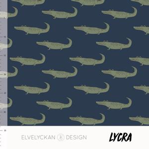 Bilde av Elvelyckan Lycra - Crocs Dark Blue