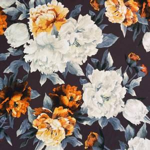 Bilde av Jersey - Rustic Big Flowers Blue