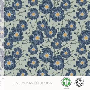 Bilde av Elvelyckan College - Floral Sea Green