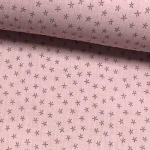 Bilde av Tripple Musselin - Stjerner Rose