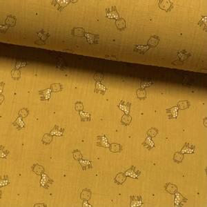 Bilde av Tripple Musselin - Giraff Ochre