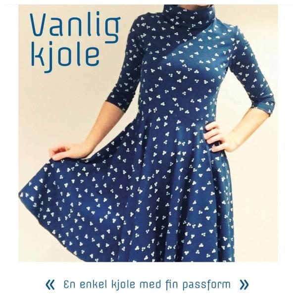 Astrid Lindgren Design: Vanlig kjole S-XL (pdf)