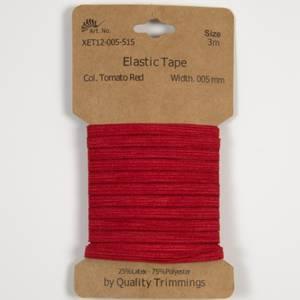 Bilde av 3 m Elastikk 5 mm - Rød